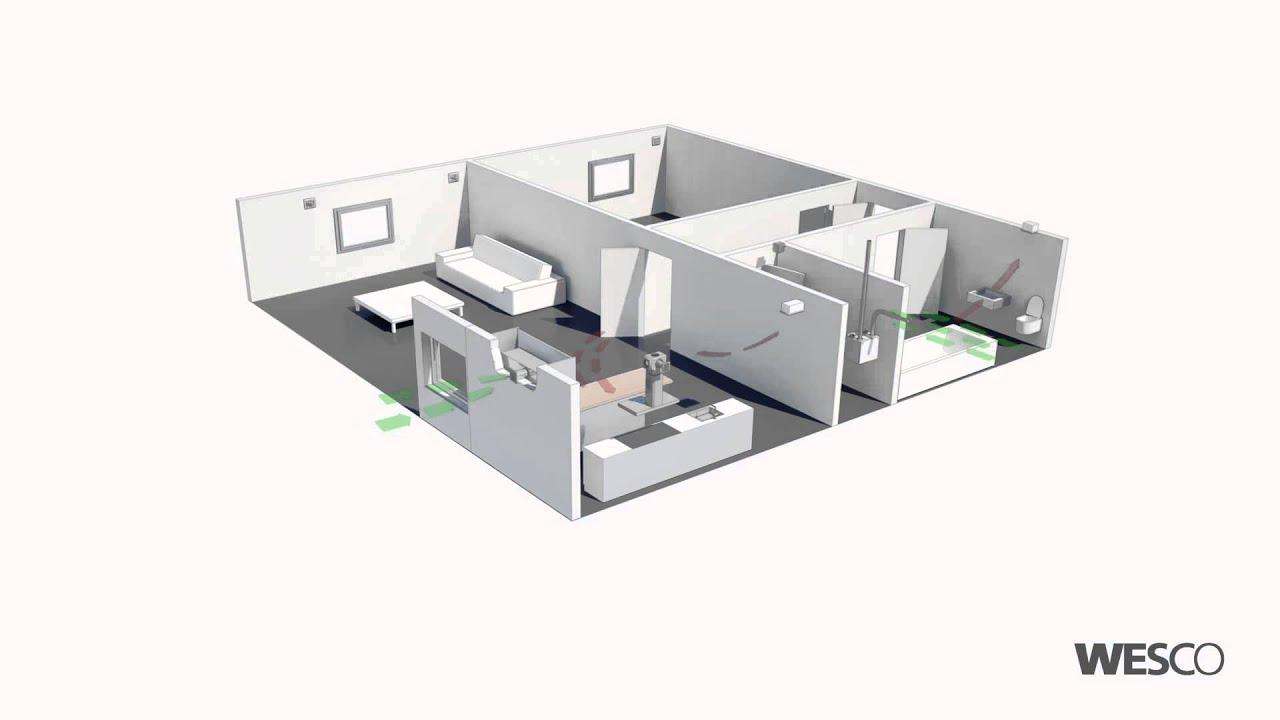 Wohnungslüftung zimmer lösung mit kwl aircube abluft youtube