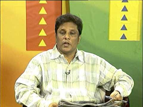 lasantha wickremetunge on MTV Sri Lanka newsline