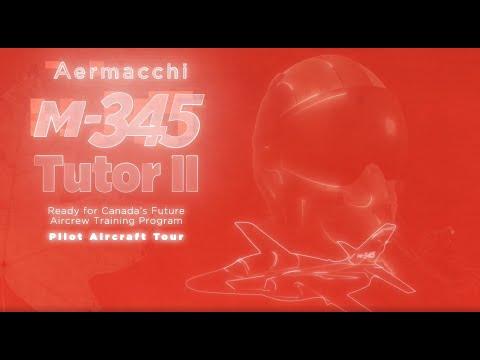 M-345 Tutor II Pilot Aircraft Tour