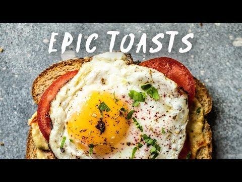 EPIC Toast Ideas (NEW)!!! Savory & Sweet | HONEYSUCKLE
