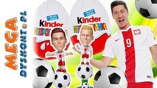 Dumni z Naszych & Kinder Niespodzianka !!! •  Quiz • Który to Piłkarz? • openbox i gry dla dzieci