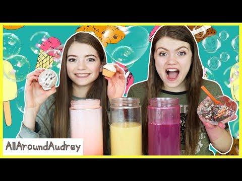 Food Bath Bomb Challenge! / AllAroundAudrey