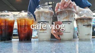 Eng) CAFE VLOG | 카페 브이로그 | 커피맛…
