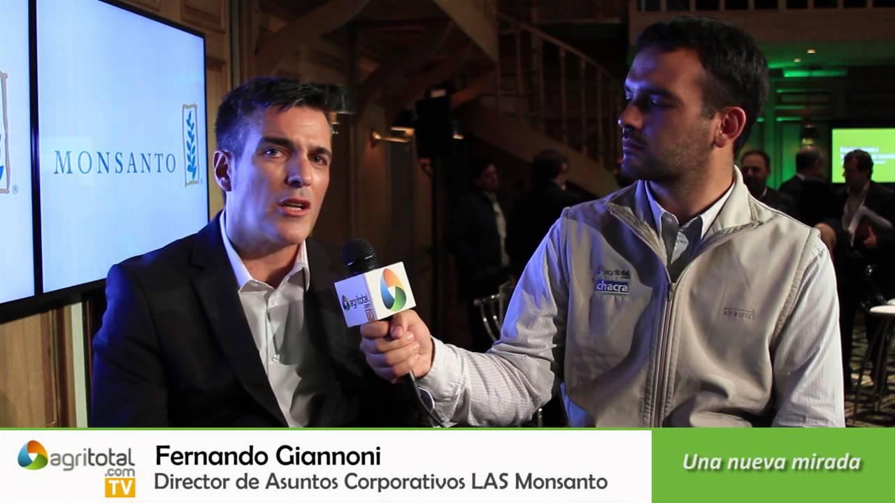 Fernando Giannoni Asuntos Director Monsanto Corporativos De Las ZXwPTiuOkl