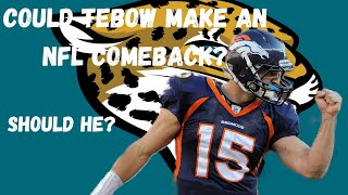 Is It Tebow Time In Jacksonville?