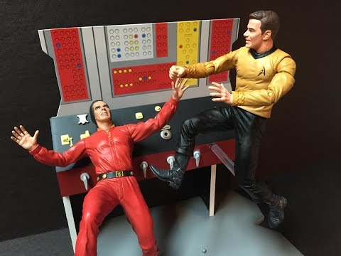 Captains Log supplemental - a power crazed Captain Foley!!!, and Kirk and Spock figure reviews