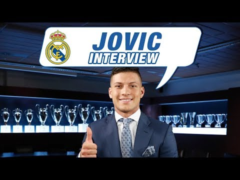"""Luka Jović EXCLUSIVE interview: """"It's such a pleasure to wear a Real Madrid shirt!"""""""