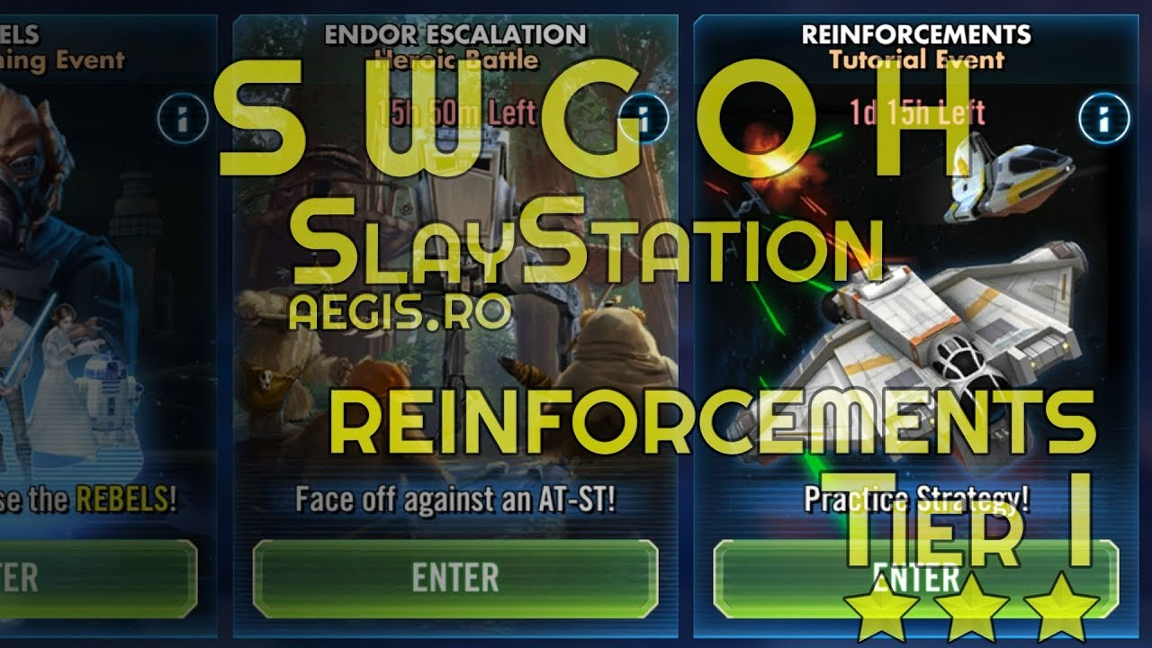 Swgoh Events