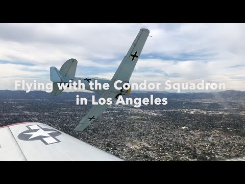 Formation Fly-by with the Condor Squadron