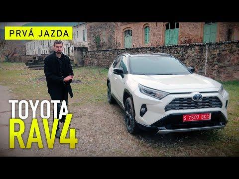 TOYOTA RAV4 (2019) | Prvá jazda | Autogratis.sk