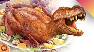 The Dinosaur On Your Thanksgiving Table