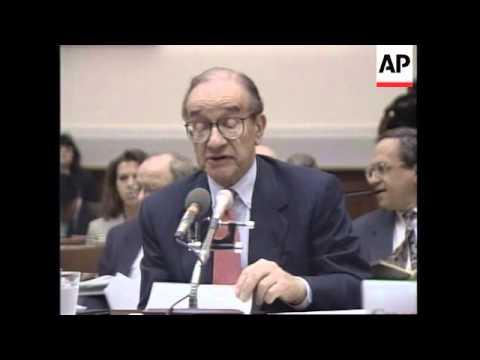 USA: PRESS CONFERENCE: FEDERAL RESERVE CHAIRMAN ALAN GREENSPAN