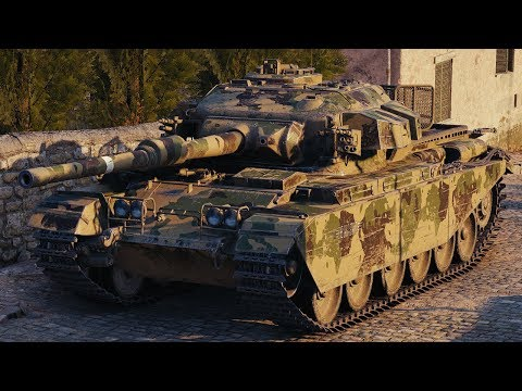 World of Tanks Centurion Mk. 7/1 - 9 Kills 8K Damage (1 VS 6) thumbnail