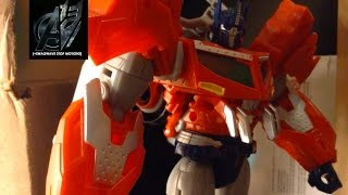 "Transformers Prime Legacy Ep 18- ""Flashback"" Stop Motion"