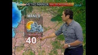 UB: Weather update as of 7:10 a.m. (May 9, 2018)