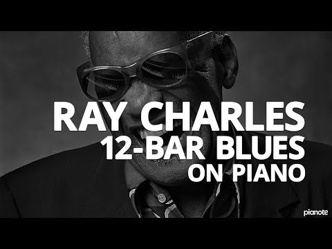 The Ray Charles 12-Bar Blues Piano Lick - Piano Lesson (Pianote)