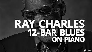 The Ray Charles 12-Bar Blues Piano Lick - Piano Lesson (Pianote)