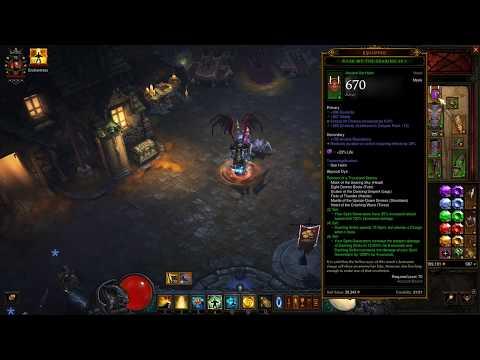 Diablo 3 2.6.0 Monk: Generator R6COE GR100+ | Season 11