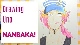 Drawing Uno from the anime Nanbaka!~~