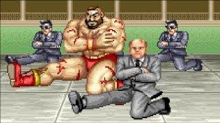 Street Fighter II - Final do Zangief