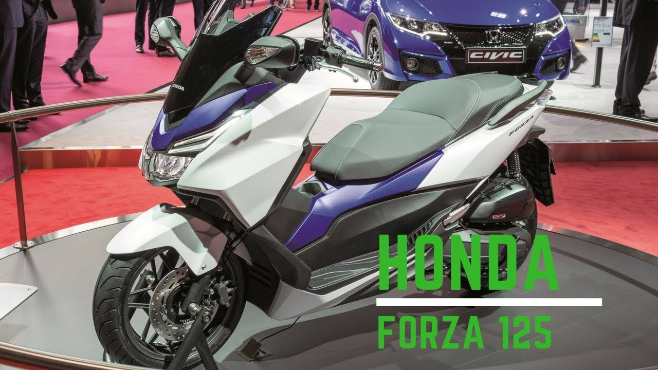 new honda forza 125 2018 specifications youtube. Black Bedroom Furniture Sets. Home Design Ideas