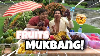 WET AND WILD FRUITS MUKBANG! (SOBRANG LAMIG) | CARAMBA CARAMBA