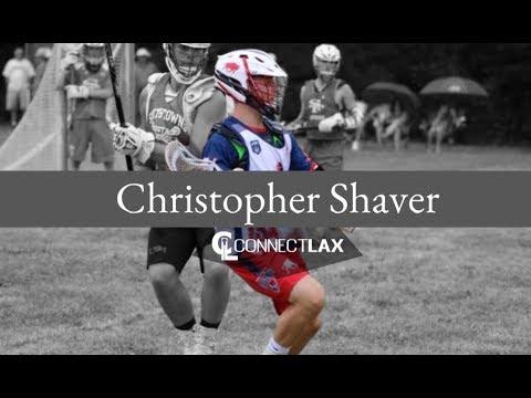 Christopher Shaver Lacrosse Highlights | NY 2020 | Att