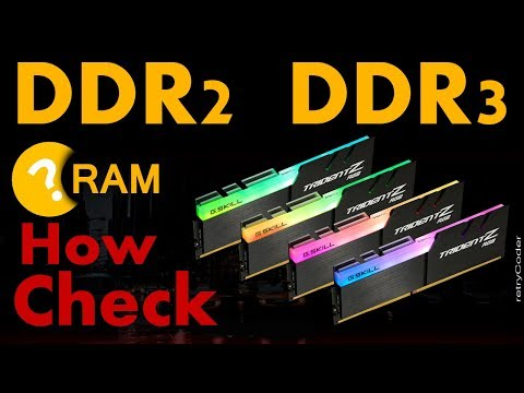 How To Check RAM Is DDR2 Or DDR3 | Check RAM Type DDR2 DDR3 Or DDR4 |  Check DDR Type In Windows