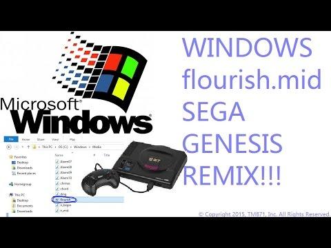 Windows - Flourish.mid: Sega Genesis Remix