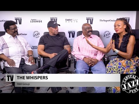 Interview with The Whispers - 2017 Capital Jazz Fest