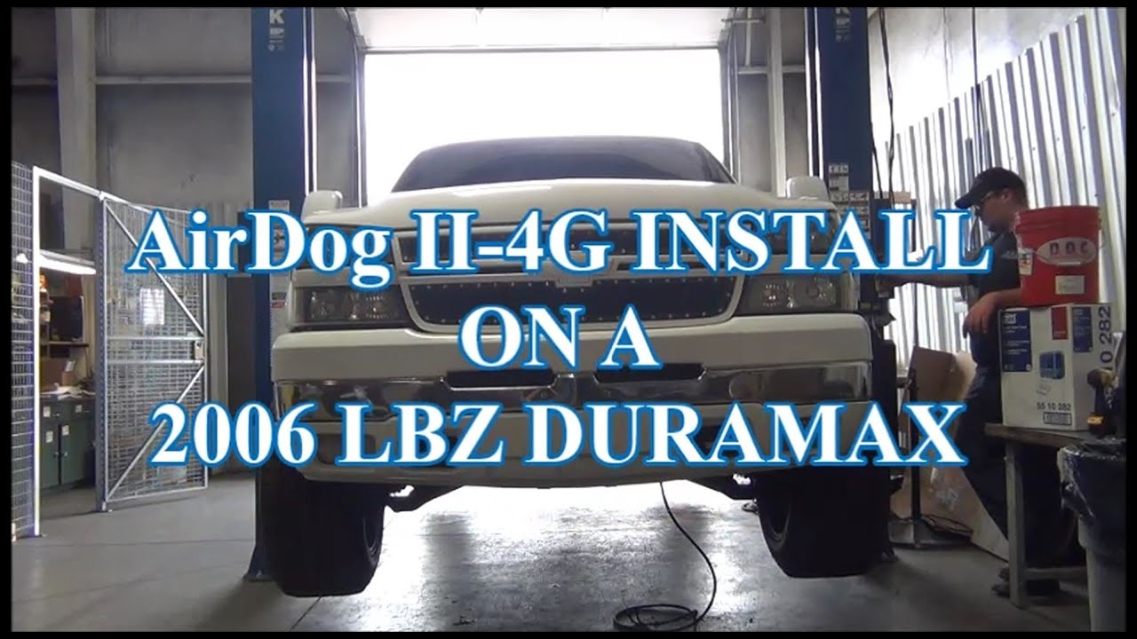 maxresdefault 2001 2010 duramax airdog� ii 4g installation on a 2006 lbz 06 Duramax Engine at nearapp.co