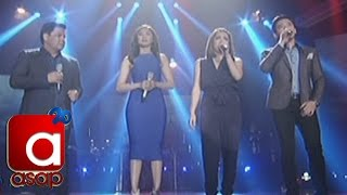 "ASAP: Sarah, Martin, Angeline, Erik sing ""I Wanna Hold Your Hand"" for Paris, France"