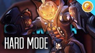 JUNKENSTEIN'S REVENGE HARD MODE! - Overwatch Halloween Terror Update Gameplay
