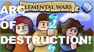Roblox / Elemental Wars / ARC OF DESTRUCTION REVIEW *OP*