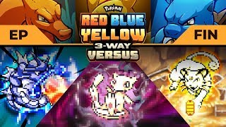 THE EPIC CONCLUSION! | Pokemon Red / Blue / Yellow #3WayVersus EP07