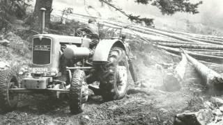 Forstwirtschaft Teil 1 Holzrücken Holzbringung Rücken Forwarder Elliator Forstschlepper Forsttraktor