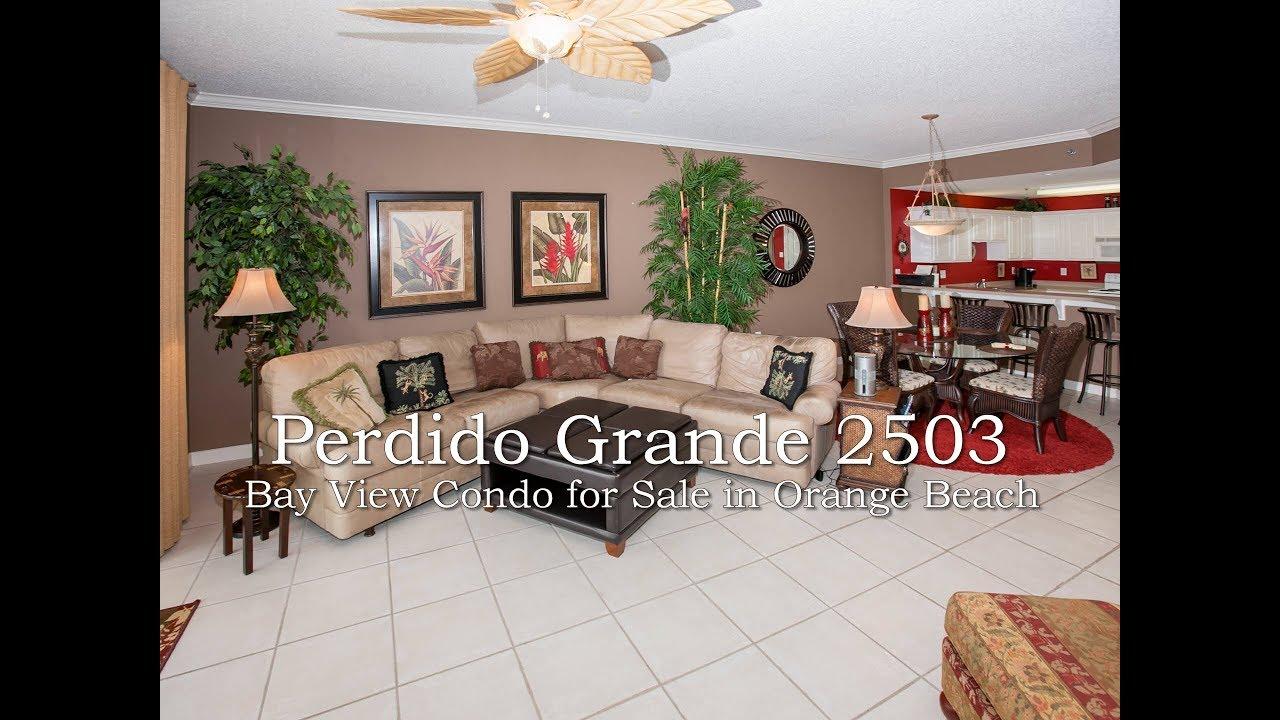 perdido grande 2503 bay view 3 bedroom condo 27770 canal rd orange
