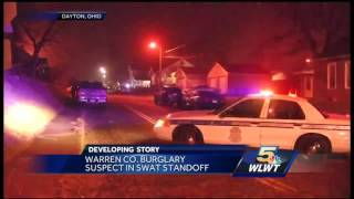 Warren County burglary suspect in jail after 7-hour standoff