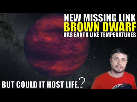 Missing Link Brown Dwarf Has Earth Like Temperatures But Could It Host Life?