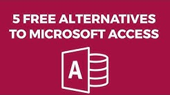 5 Free Alternatives to Microsoft Access