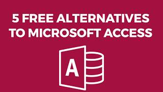 5 Free Alternatives to Microsoft Access screenshot 3