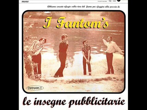 Le Insegne Pubblicitarie By I Fantom's 1966