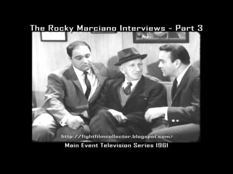 The Rocky Marciano Interviews - Part Three (16mm Transfer) Nat King Cole, Jimmy Durante, George Raft