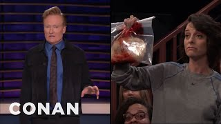 Ask Conan Anything, Except... - CONAN on TBS