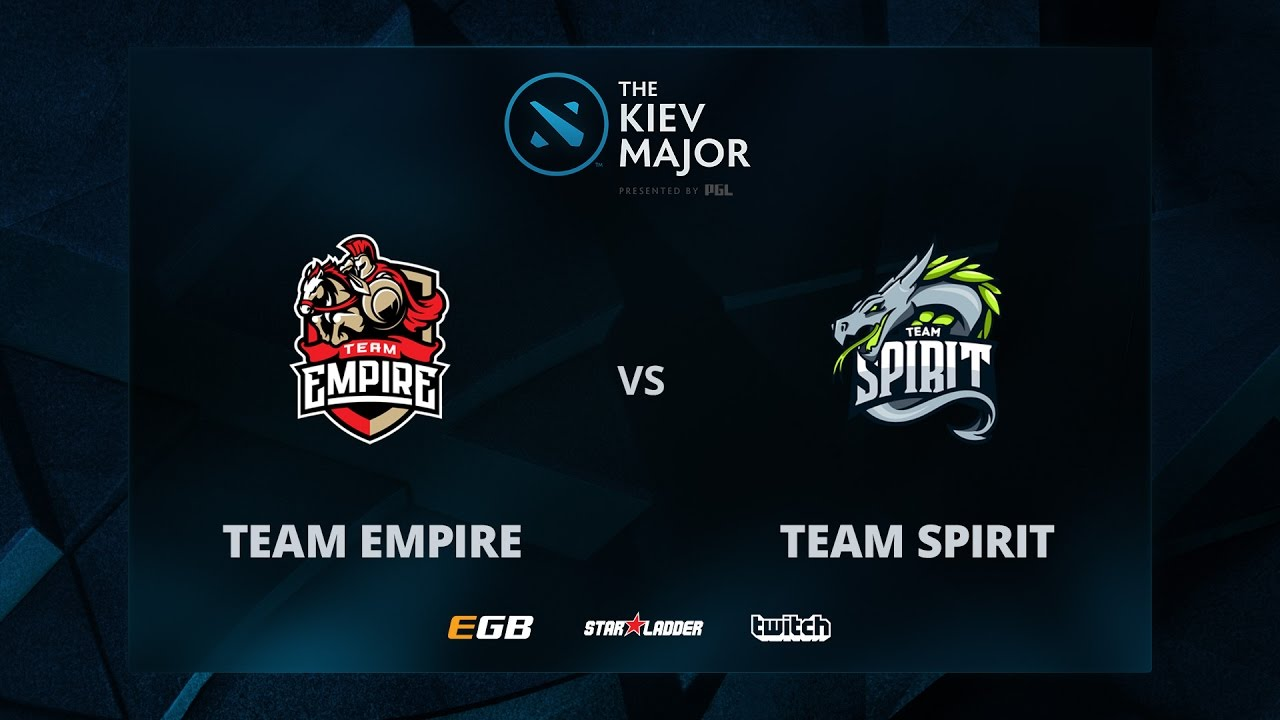 Team Empire vs Team Spirit, The Kiev Major CIS Main Qualifiers