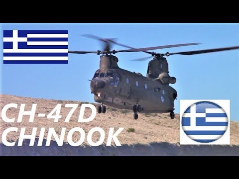 ✔🔴 Amazing landings, Kalymnos Airport, CH-47D Chinook & UH-1H (Huey) ,Hellenic Army Aviation ,Greece