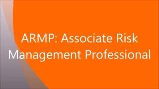 DRI's ARMP Certification