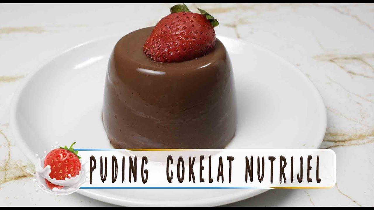 52+ Gambar Puding Nutrijel Coklat Terbaik