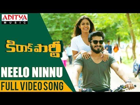Neelo Ninnu Full Video Song| Kirrak Party Video Songs | Nikhil | Samyuktha |Sharan Koppisetty