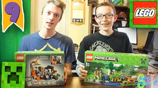 One of Fin's most viewed videos: SKY vs FIN | EP 9 | MINECRAFT LEGO CHALLENGE!